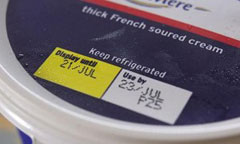 best before, use by, display until, date label, defra, food standards agency
