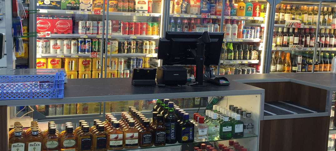 Alcohol sales ban