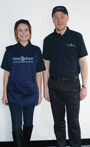 "<figcaption></noscript>Store2Door branded uniforms will advertise the service to customers</figcaption>"" width=""300″ height=""486″ /> Store2Door branded uniforms will advertise the service to customers</figure><p>""Publishers are committed to HND. Store2Door will give them confidence to invest in it in a big way and share the spoils.</p><p>""We are evaluating, researching and testing the best way for them to do that.</p><p>""This is the NFRN driving the agenda for the guaranteed sale of delivered copy.""</p><p>It is trialling a number of offers and mechanics of canvassing across the country which range from 12 weeks of papers at half-price delivery charge to six weeks completely free, with other tailored offers in between, including set price points.</p><p>Thousands of leaflets have gone out to homes without active news accounts in six parts of the country and will be followed up by telephone and door-to-door canvassing.</p><p>Significantly, the NFRN is funding these retailer-led trials itself rather than relying on the backing of publishers.</p><p>Mr Simper says this will allow it to independently assess how effective each combination of activity has been and to fully understand the types of customers who are not taking HND copy and their reasons.</p><p>Once trials are completed this summer, a branded rollout backed by the supply chain will commence and retailers will have the opportunity to earn extra profits and further understand the Store2Door process.</p><p>This will span three service levels. The first tier offers support to protect the retailer's customer area and provides advice through the NFRN's Store2Door online hub and a help and advice line.</p><p>A second tier will add in PoS kits and guarantee copy supply for tactical sales activity backed by publishers.</p><p>For retailers who are able to cover large postcode areas and more than 300 accounts, there will be a third tier offering free canvassing.</p><p>The online resource will provide legal and financial help, mechanisms to buy and sell rounds and, in time, the ability to take payments by direct debit.</p><p>The NFRN is keen to underline that this is a not a kneejerk reaction to any of the attempts by various small groups of newsagents to unsuccessfully – and in many eyes unrealistically – campaign for better margins, often at the expense of market-rate payments.</p><p>Months have been devoted by the Store2Door team to develop the offer and, behind the scenes, it has already won support from a number of publishers on the key issues it has set out to tackle.</p><p>It has seen several publishers commit to converting direct-to-customer accounts back to independents and a trial backed by the UK's biggest distributor to fulfil magazine subscriptions that have never before been handled by the newstrade.</p><p>Mr Simper points out that this progress – along with the NFRN's achievements on securing increases for third party advertising inserts, successfully blocking requests for recent cut-off extensions by publishers and its ongoing day-to-day relationship with all major publishers – puts the efforts of any newcomers firmly in the shade.</p><p><a class='link' href="