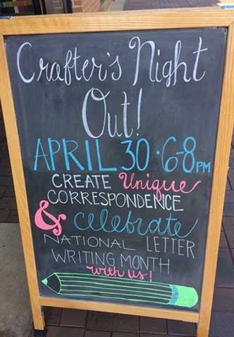 crafters-night