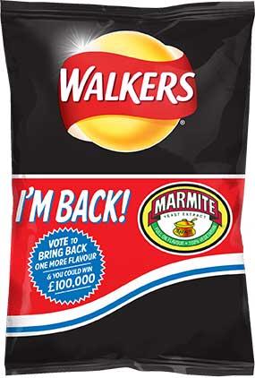 walkers marmite flavour