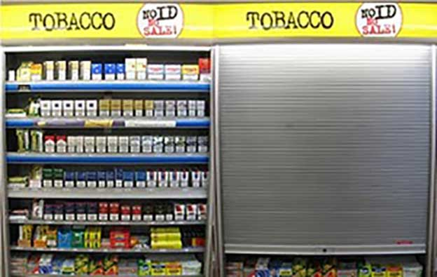 TOBACCO-DISPLAY