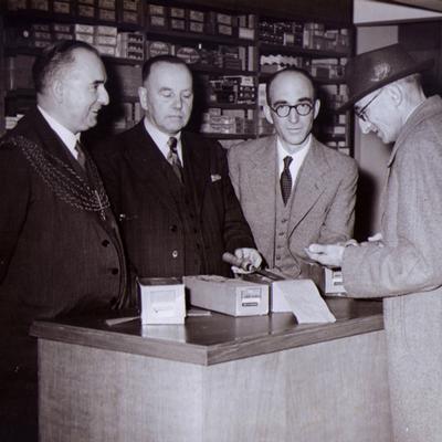 tobacconist, retailer, shop, fifties