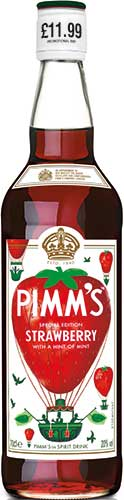 pimms strawberry