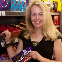 Cadbury, trade, dairy milk, shop