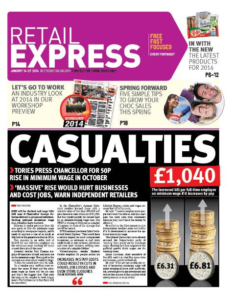 Retail express January newspaper