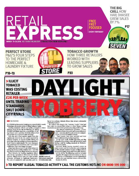 Retail express March newspaper