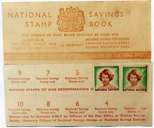 saving stamps