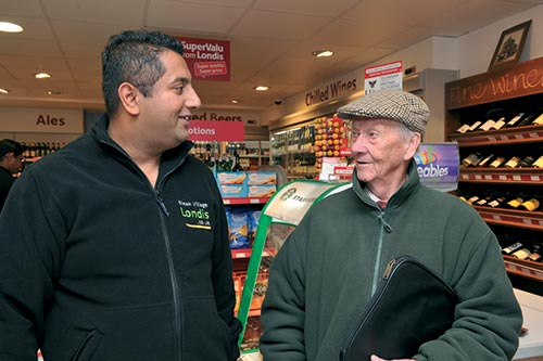 "<figcaption></noscript>Staff at Blean Village Londis keep an eye out for their customers and help them to avoid any potential hazards</figcaption>"" width=""500″ height=""333″ /> Staff at Blean Village Londis keep an eye out for their customers and help them to avoid any potential hazards</figure> <figure class="