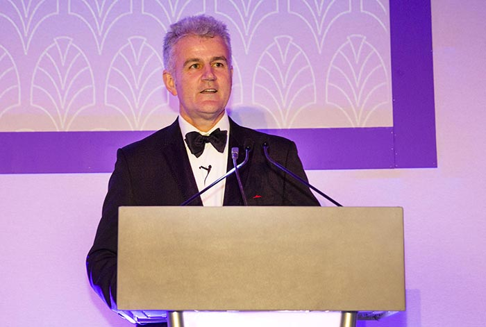 Newtrade managing director Nick Shangher hosted the event