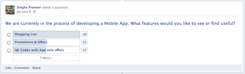 <figcaption>Social media is a great way to talk directly to your customers to find out what they want</figcaption>