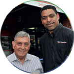 Clifford Hall and Bob Gokani