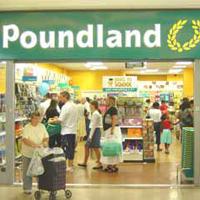 poundland, budget