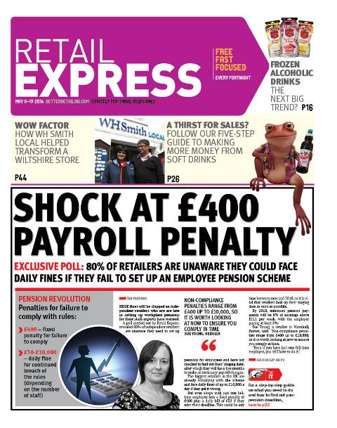 Retail express May newspaper