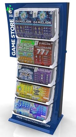 The new scratchcard dispenser