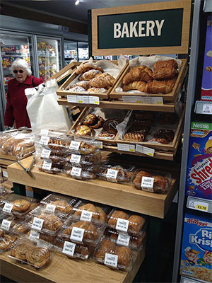Shelley's Budgens Horsham bakery