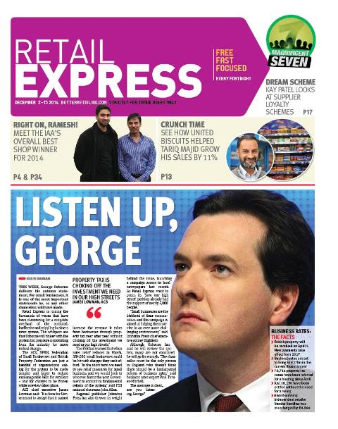 Retail express December newspaper