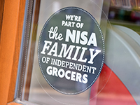 Nisa sticker