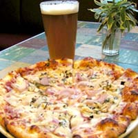 pizza, beer, alcohol, cider, acs
