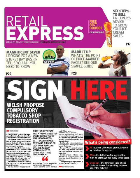 Retail express April newspaper