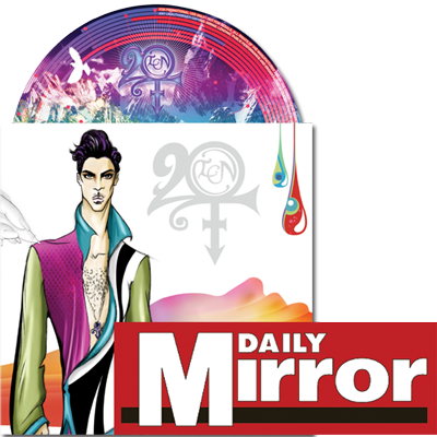 Prince, Daily Mirror, CD, sales, boost