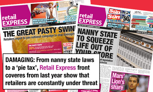 Retail Express Front Covers