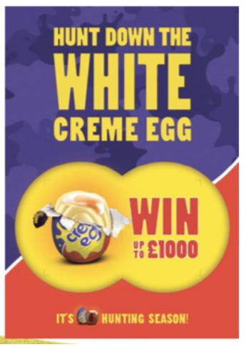 White Creme Egg