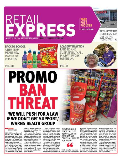 Retail express August newspaper