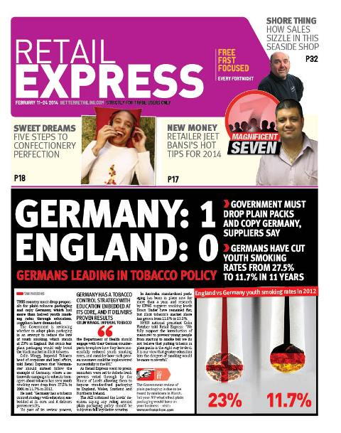 Retail express Febuary newspaper