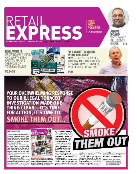 Retail express October newspaper