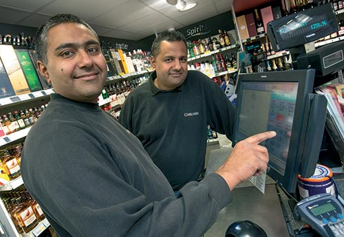"<figcaption></noscript>Paul and Pinda use Costcutter's Range Manager to ensure they stock the correct range and maintain full availability</figcaption>"" width=""500″ height=""345″ /> Paul and Pinda use Costcutter's Range Manager to ensure they stock the correct range and maintain full availability</figure> <figure class="