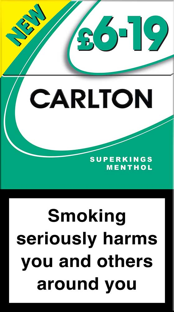 Carlton Superkings Menthol