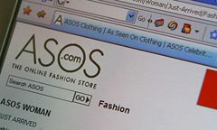 ASOS the online fashion store