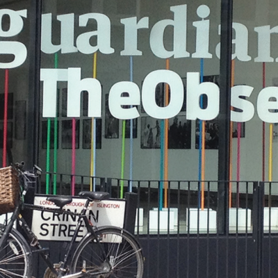 a picutre of outside The Guardian