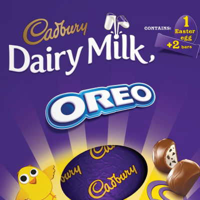 An Oreo easter egg